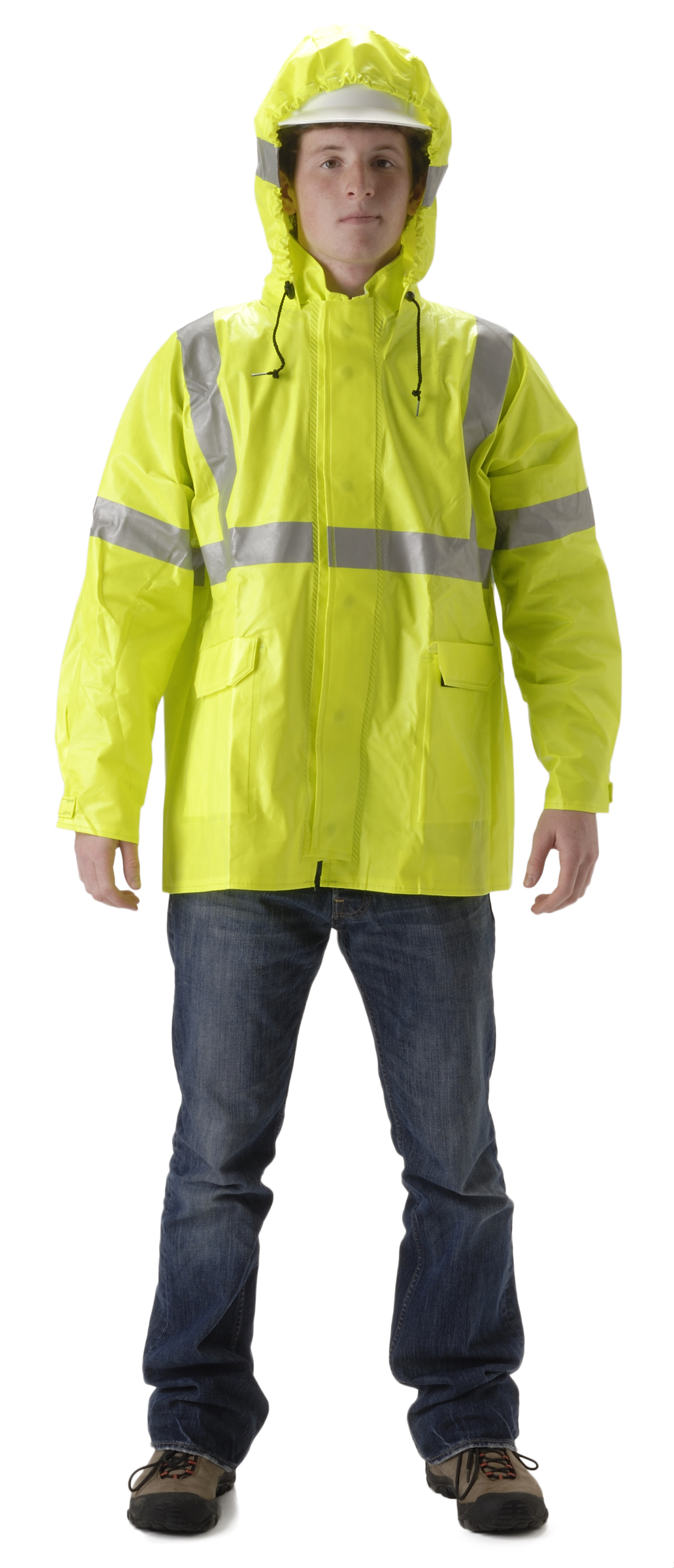 NASCO ARCLite HiVis 1500 Series Raingear Jacket Long