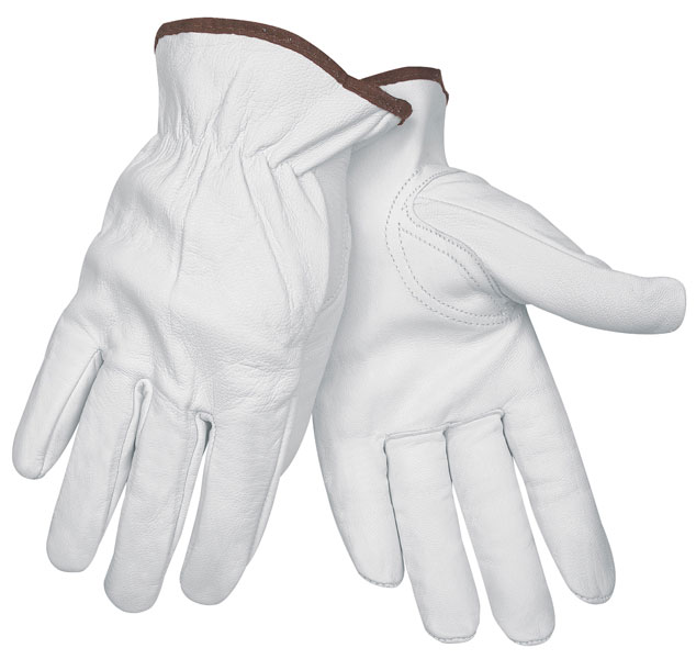 Memphis Glove, Drivers Glove, Premium Grain Goatskin Leather, Keystone Thumb X-Large. 2XL
