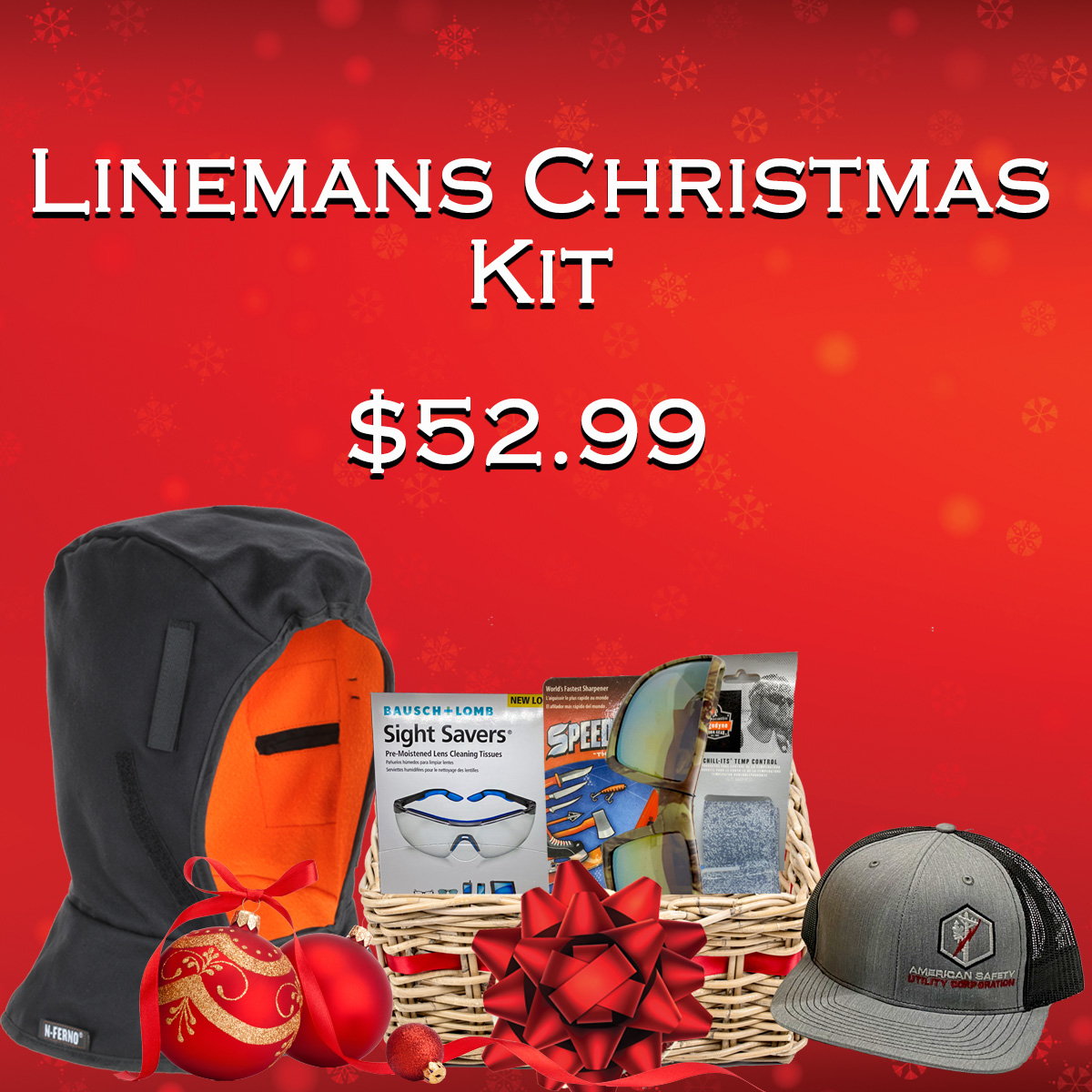 Lineman Christmas Kit