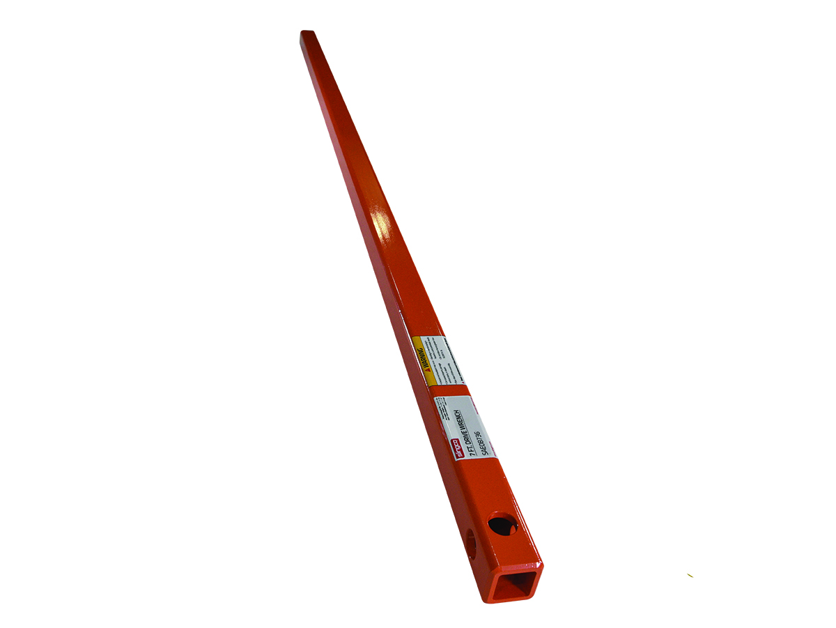 Anchor Tool Orange Kelly Bar 7 Foot