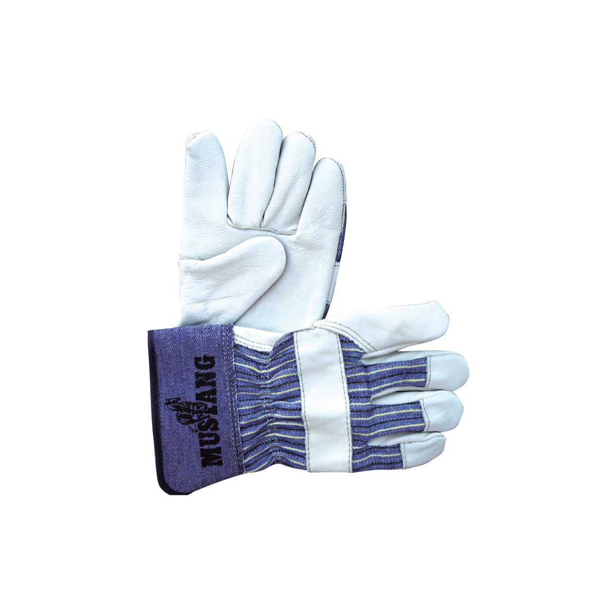 Grain Leather Palms Gloves 2