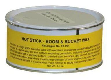 *.*Hastings Hot Stick Boom and Bucket Wax*.*