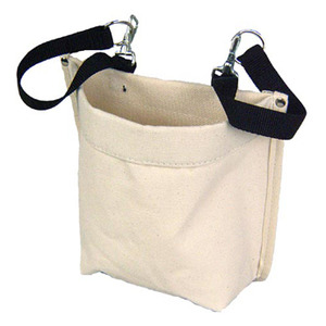 American Safety D-Ring, Snap Assembly Nut and Bolt Bag Canvas Bag