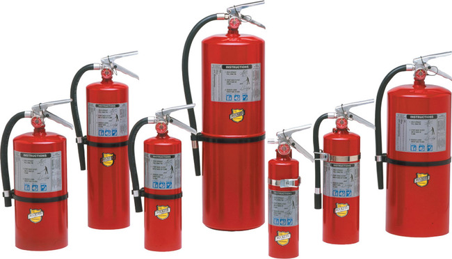 ABC Multipurpose Portable Fire Extinguishers - 2.5 ABC (13315)