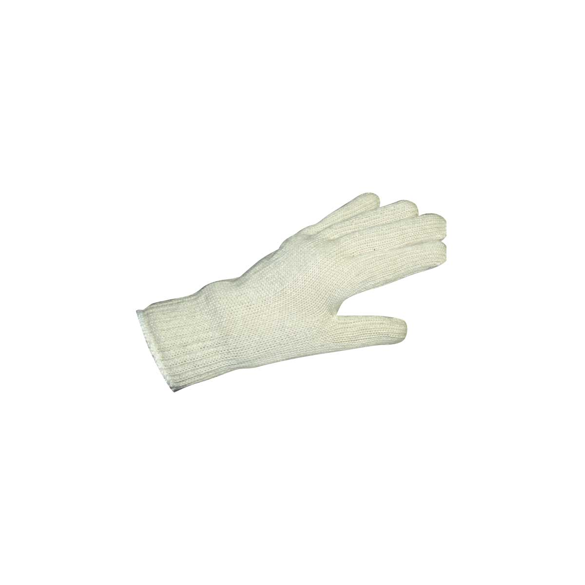 American Safety Glove Liners White Cotton Knit