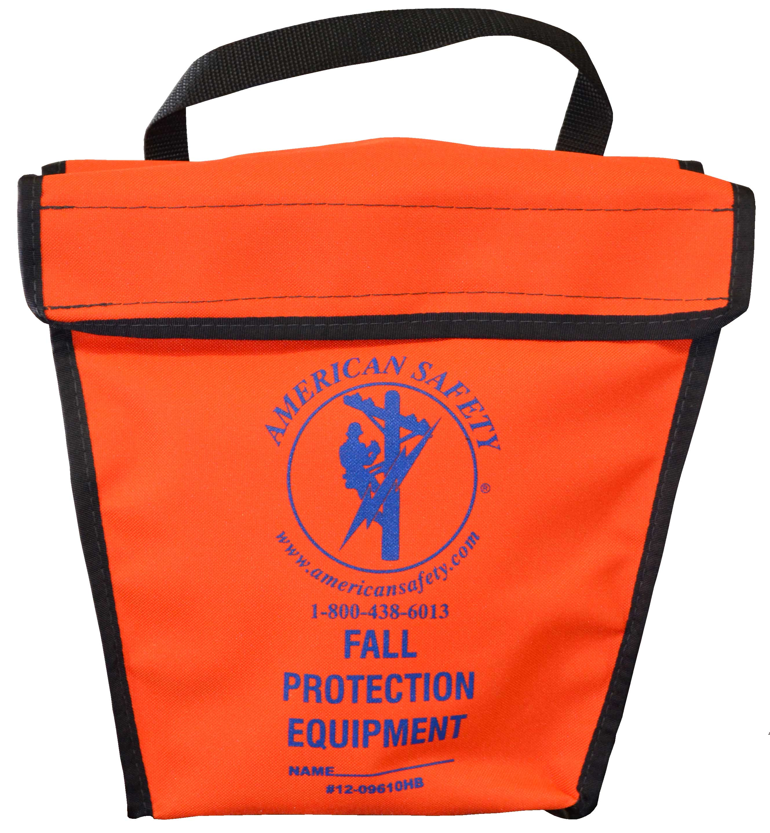 American Safety Harness Bag  Vinyl Orange