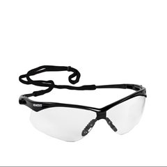 Jackson Safety V30 Nemesis Clear Anti-Fog Lens with Black Frame Safety Glasses