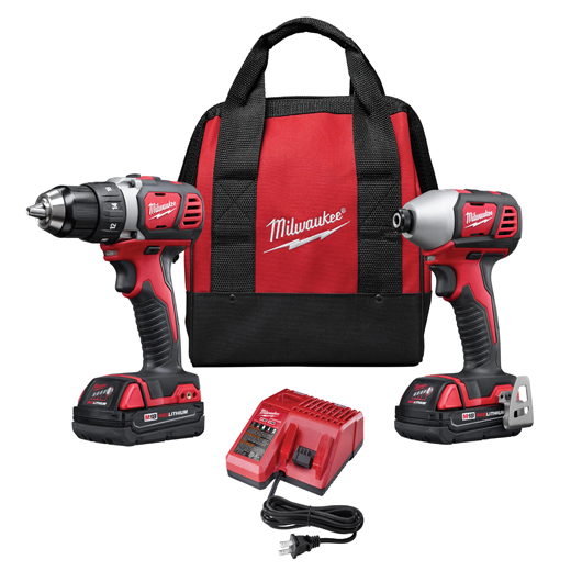 Milwaukee M18™ Cordless LITHIUM-ION 2-Tool Combo Kit