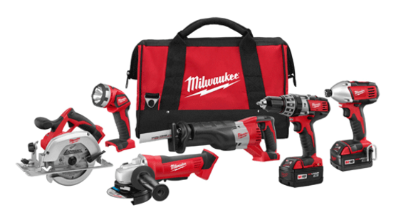 Milwaukee M18™ Cordless LITHIUM-ION 6-Tool Combo Kit