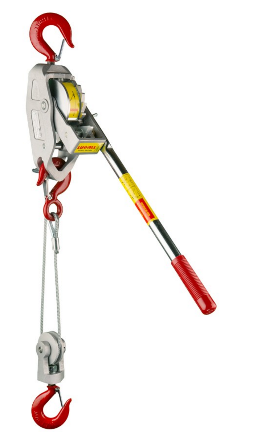LugAll 1 1/2 TON CABLE HOIST