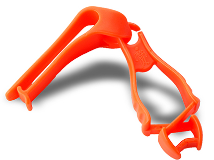 Ergodyne Grabber-Belt Clip,hi-vis Orange