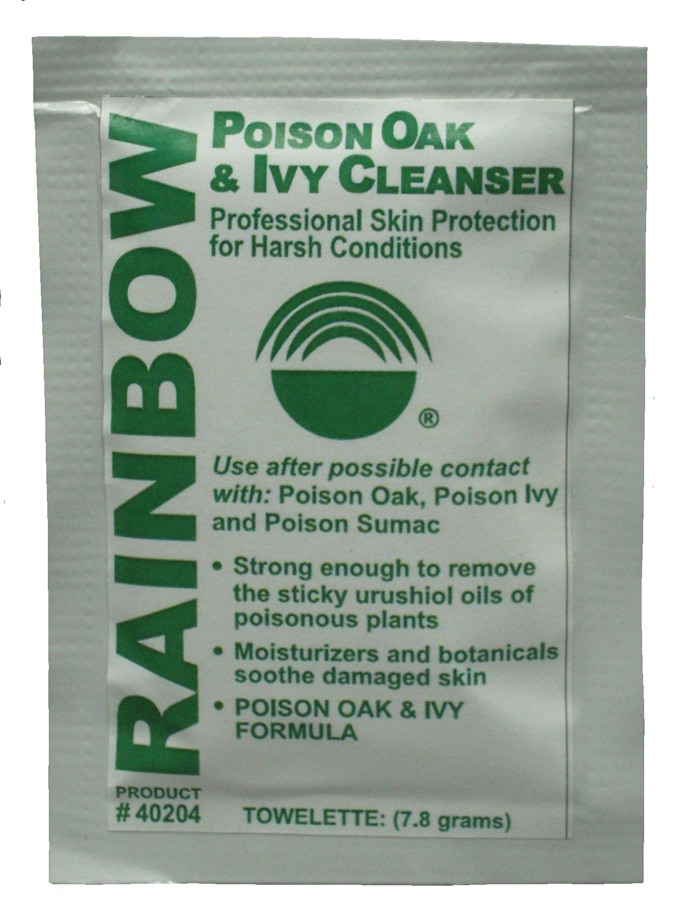 Rainbow Poison Oak & Ivy Cleanser Box of 12 packages