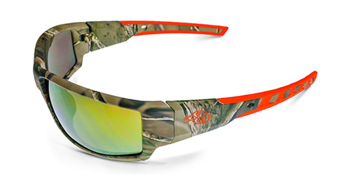 Crossfire Cumulus - Gold Mirror Lens / Camo Frame