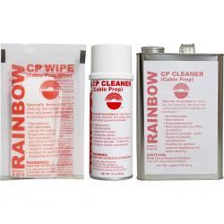 Rainbow CP (Cable Prep) Cleaner - 12-16 oz. Spray Cans