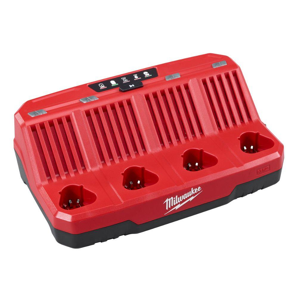 Milwaukee M12™ Four Bay Sequential Charger