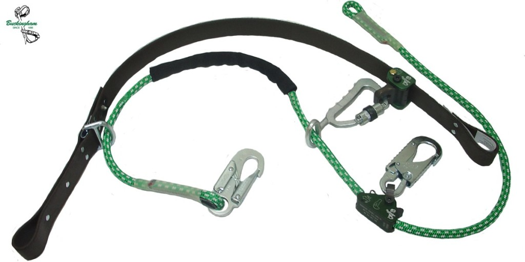 BUCKINGHAM DISTRIBUTION SUPER SQUEEZE, ROPE INNER STRAP W/SNAP HOOKS