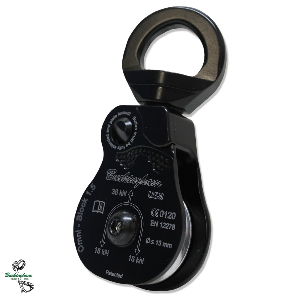 BUCKINGHAM OX-BLOCK SINGLE SHEAVE PULLEY