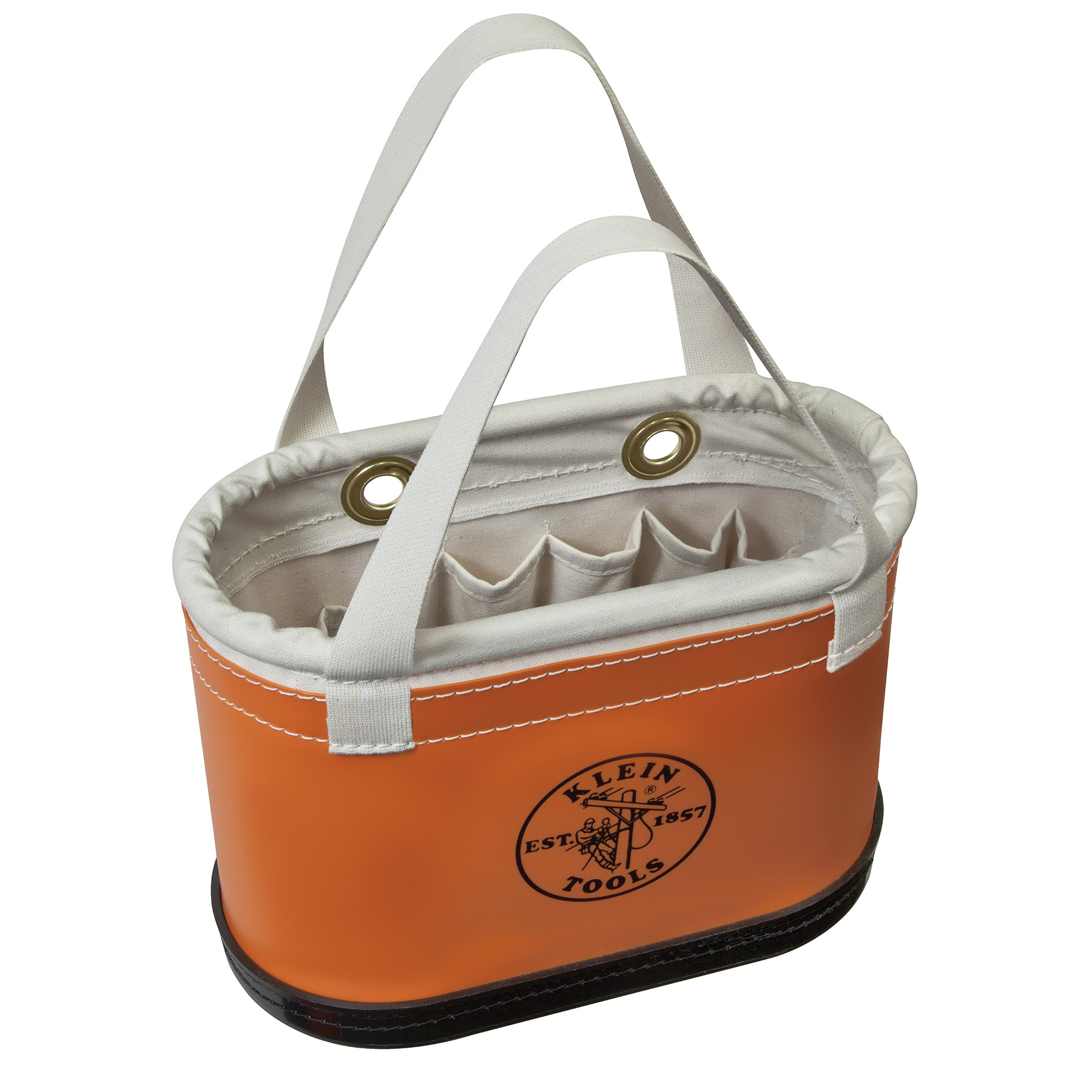 Klein Orange Hard-Body Oval Buckets