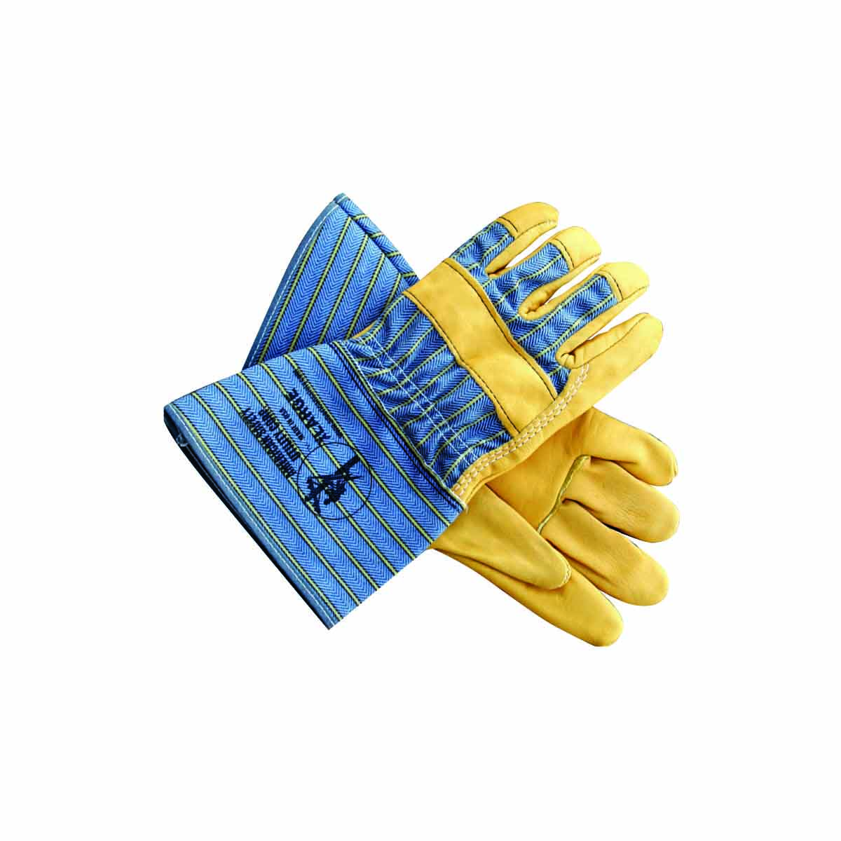 American Safety Top Grain Leather Palm Gloves 2