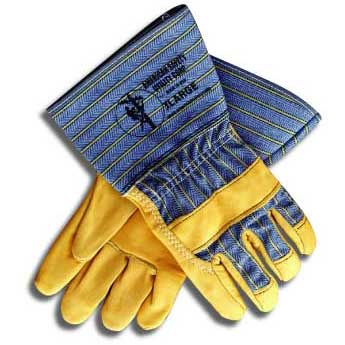 Top Grain Leather Palm Gloves 4
