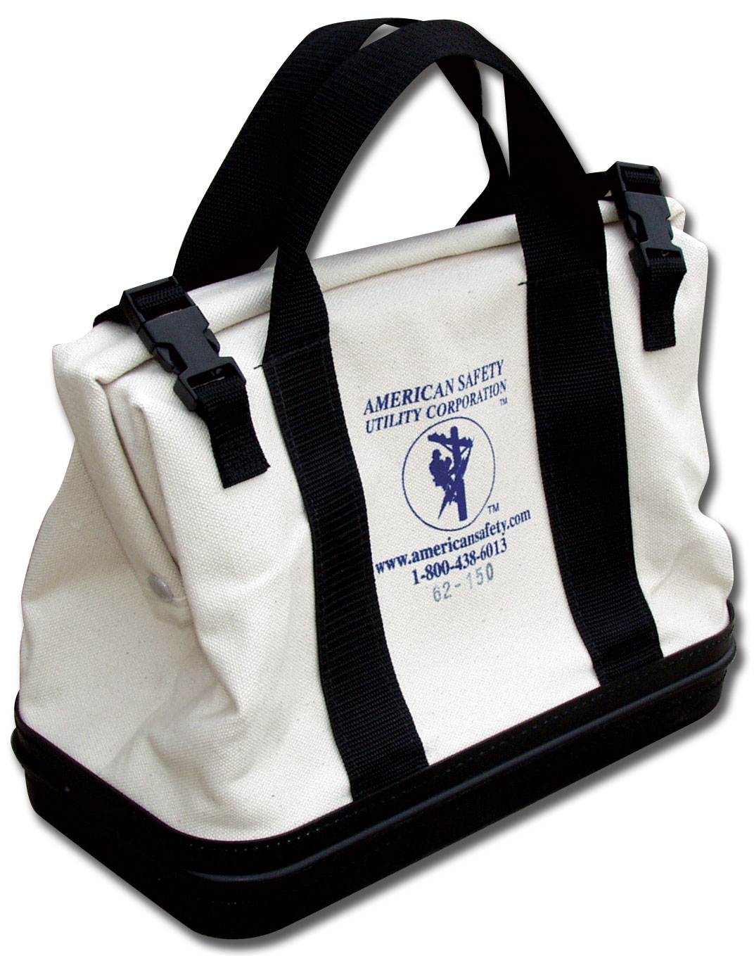 "American Safety Canvas Frame Bags #4 Canvas Duck 15"" x 8"" x 13"""