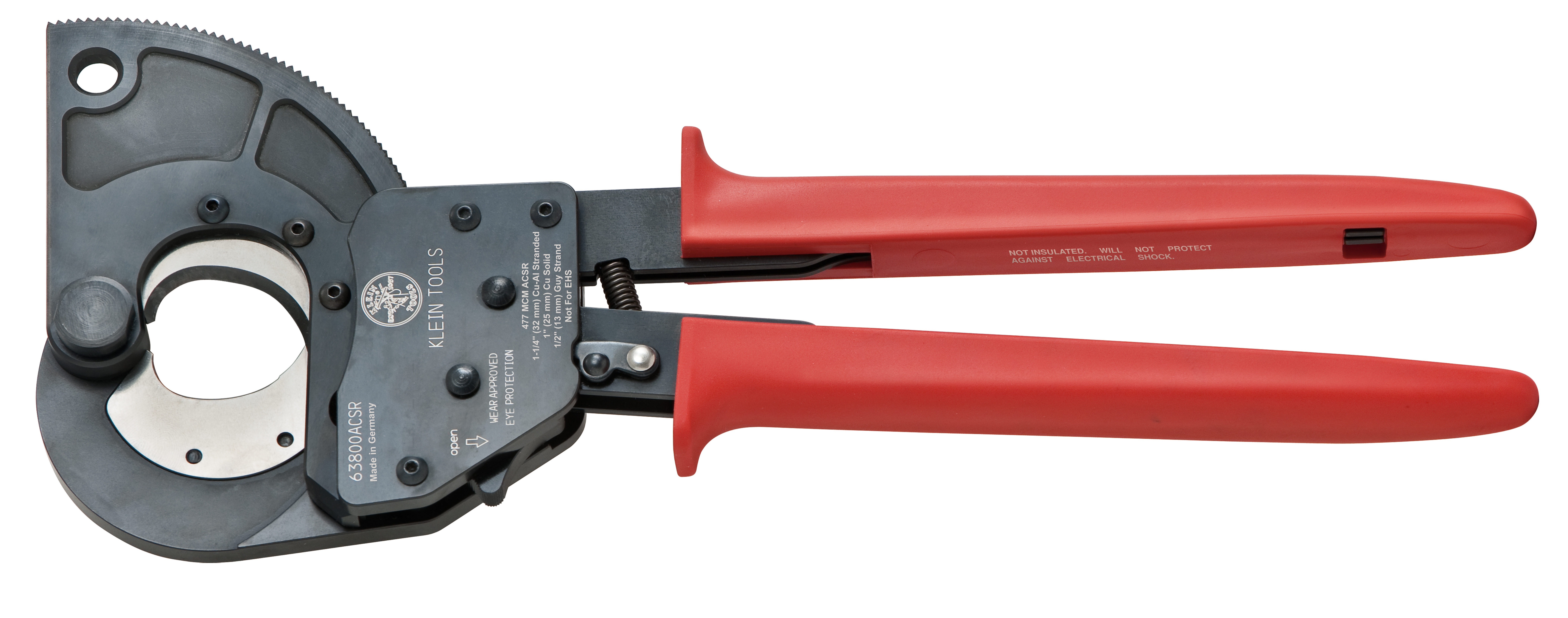Klein ACSR Ratcheting Cable Cutter Length 13 3/4""