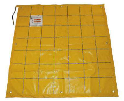 Hastings Portable Protective Ground Mat - Yellow, 58