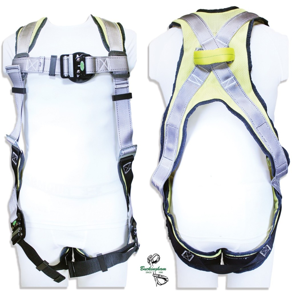 BUCKINGHAM H-STYLE FULL BODY HARNESS BUCK FIT Medium