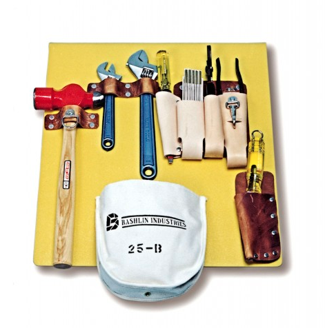 Bashlin 708 Series Tool Board with Leather Bag