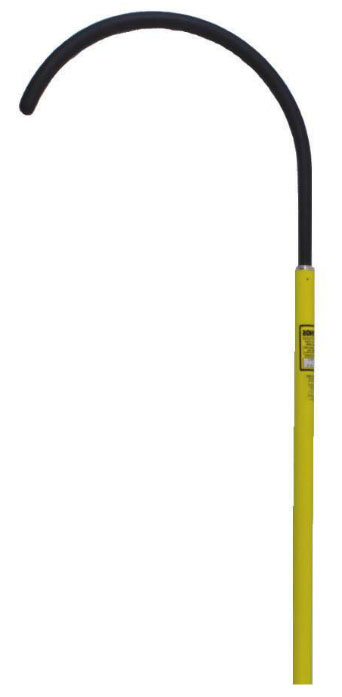 Hastings Body Rescue Hook Stick - 6' Pole