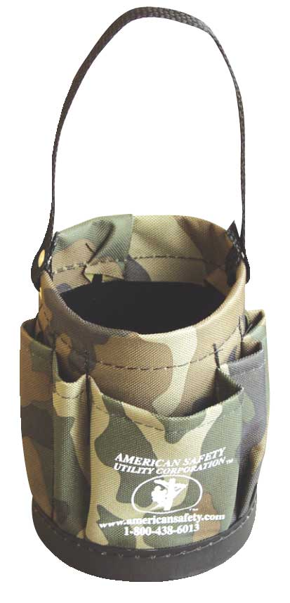 American Safety Camo Mini Tool Bucket