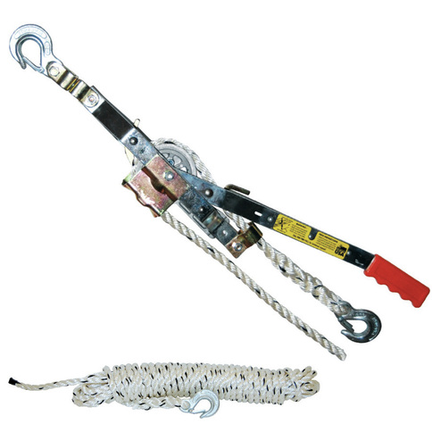 Maasdam 3/4 Ton Rope Puller (20 ft. Rope) - 50 ft.