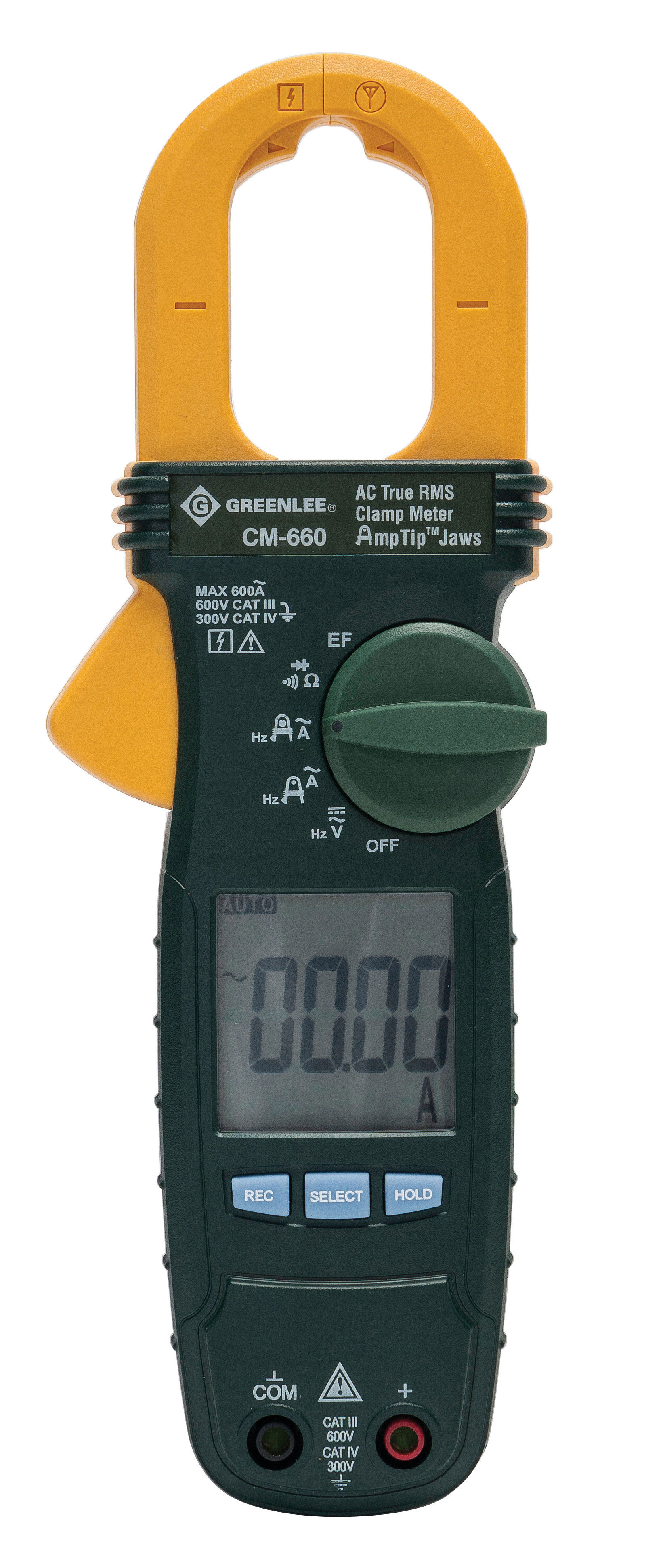 GREENLEE CLAMPMETER, TRUE RMS