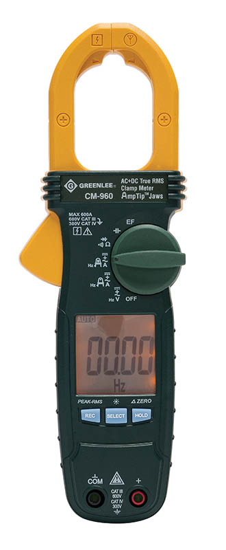 Greenlee, Clampmeter ac rms