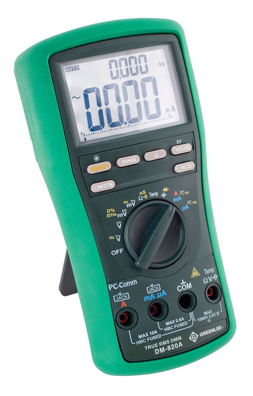 Greenlee 820A Data-Logging Multimeter