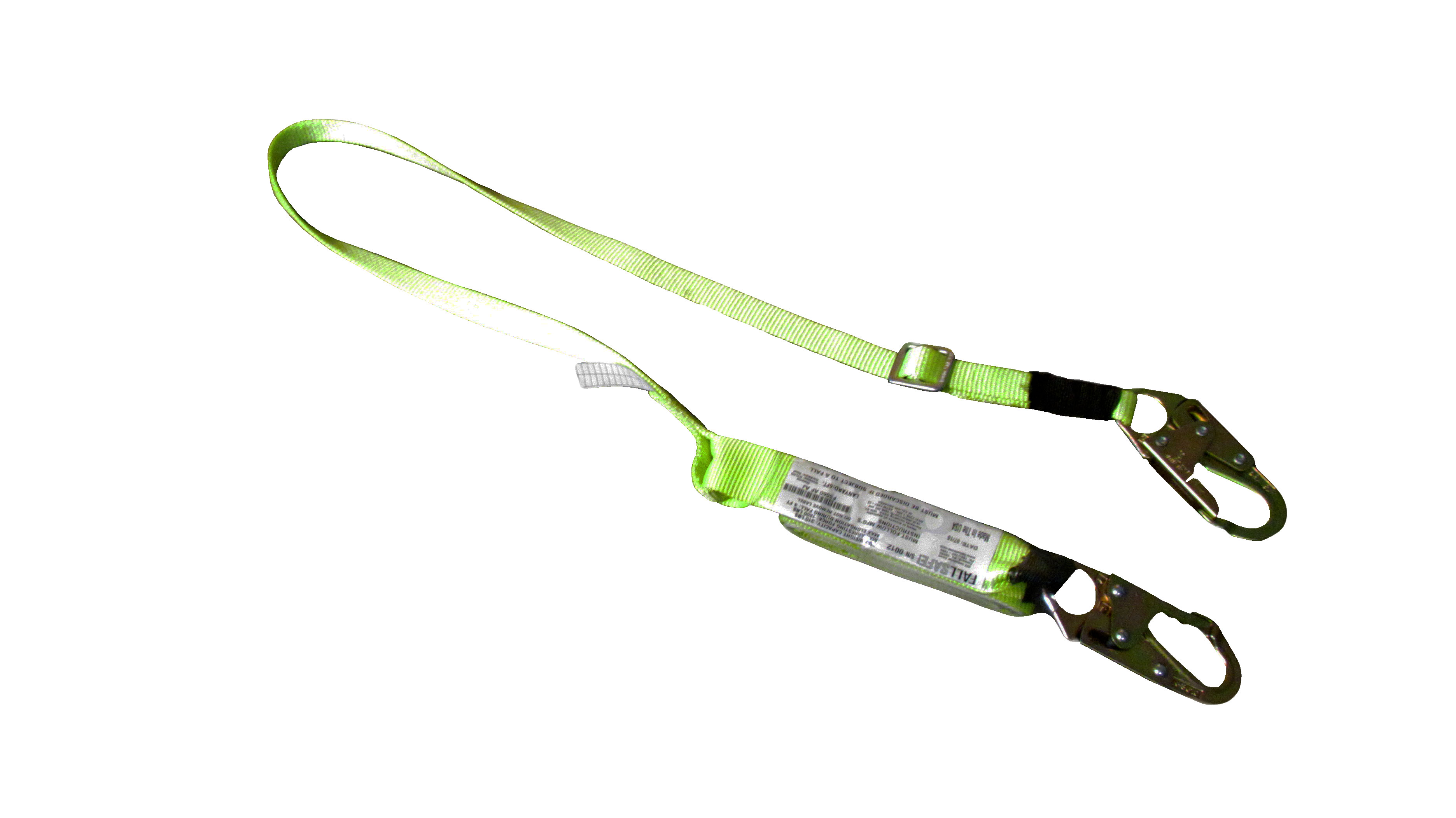 SafeWaze Lanyard. 6 FT Adjustable to 4 FT, Arc Flash Rated, 40 CAL.  Meets ASTM F887