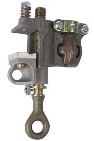Chance Grounding Clamp, flat face