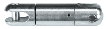 Lewis Sealed Ball Bearing Directional Boring Swivels Working Load 5,400 lbs., Approx. Breaking Strength 16,200 lbs.