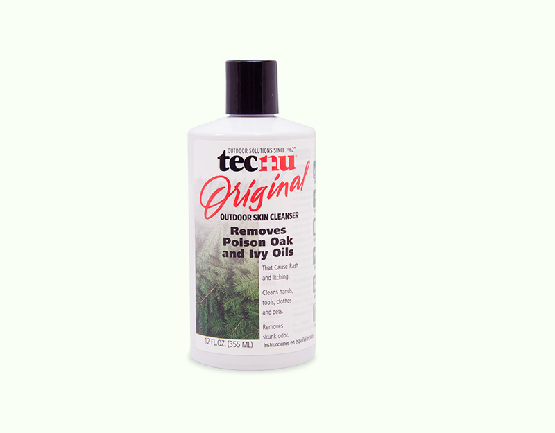 Tecnu Oak-N-Ivy Brand Outdoor Skin Cleanser 12 oz. Bottle
