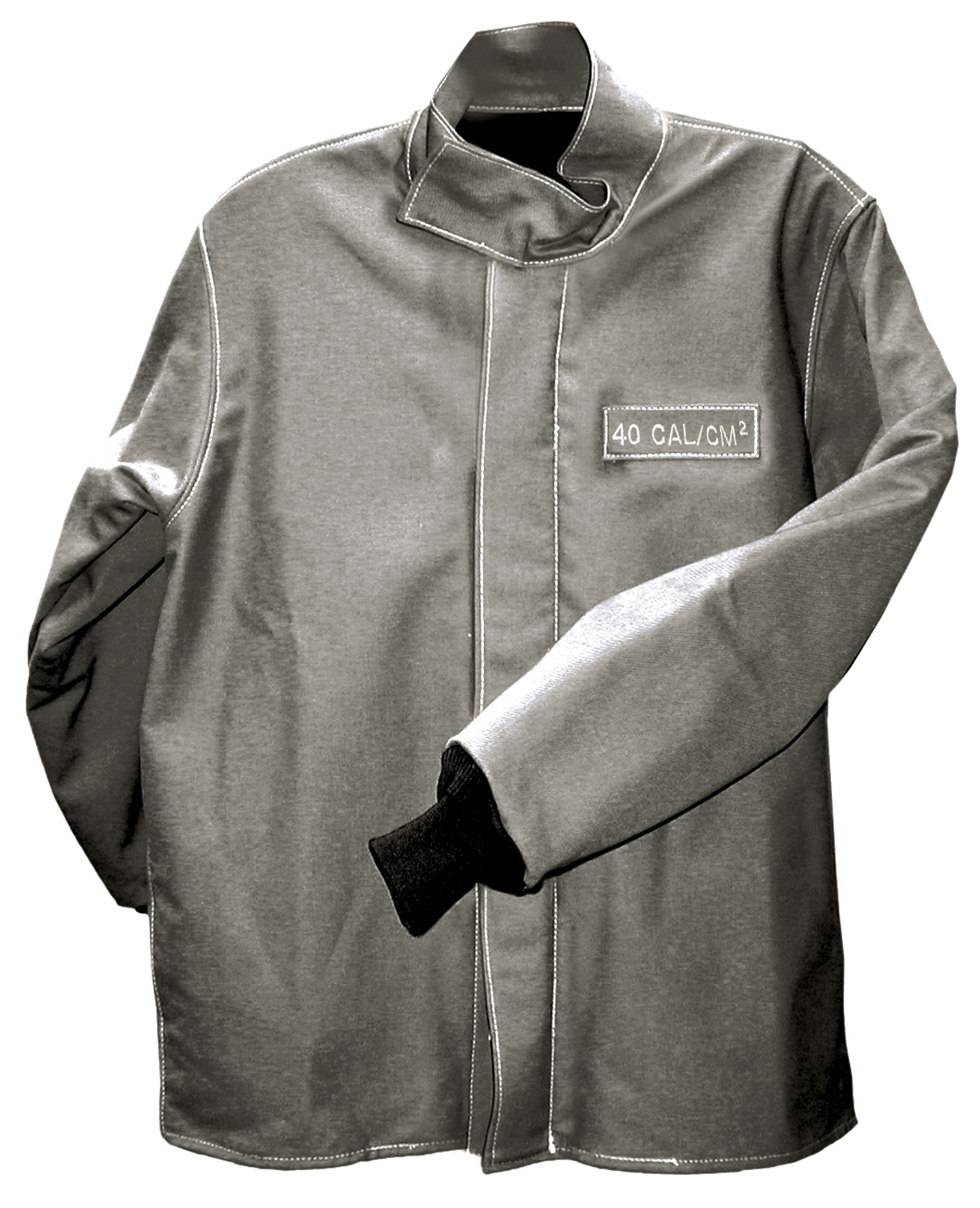 SALISBURY ARC FLASH PROTECTION COAT 40CAL/CM -GRAY- LARGE