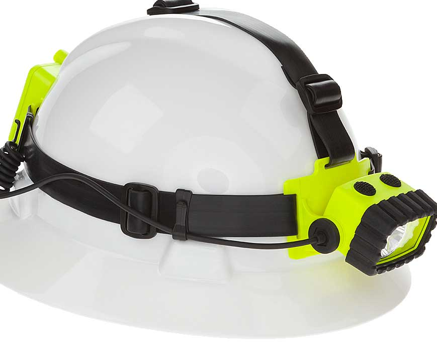 Safety Rated Intrinsically Safe Headlamp