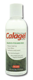 Calagel Medicated Anti-Itch Gel 6 oz. Bottle