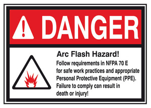 Arc Flash Hazard Labels 5