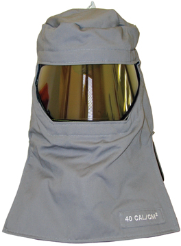 Salisbury PRO-HOOD Arc Flash Protection Hoods 40 cal/cm2 Gray