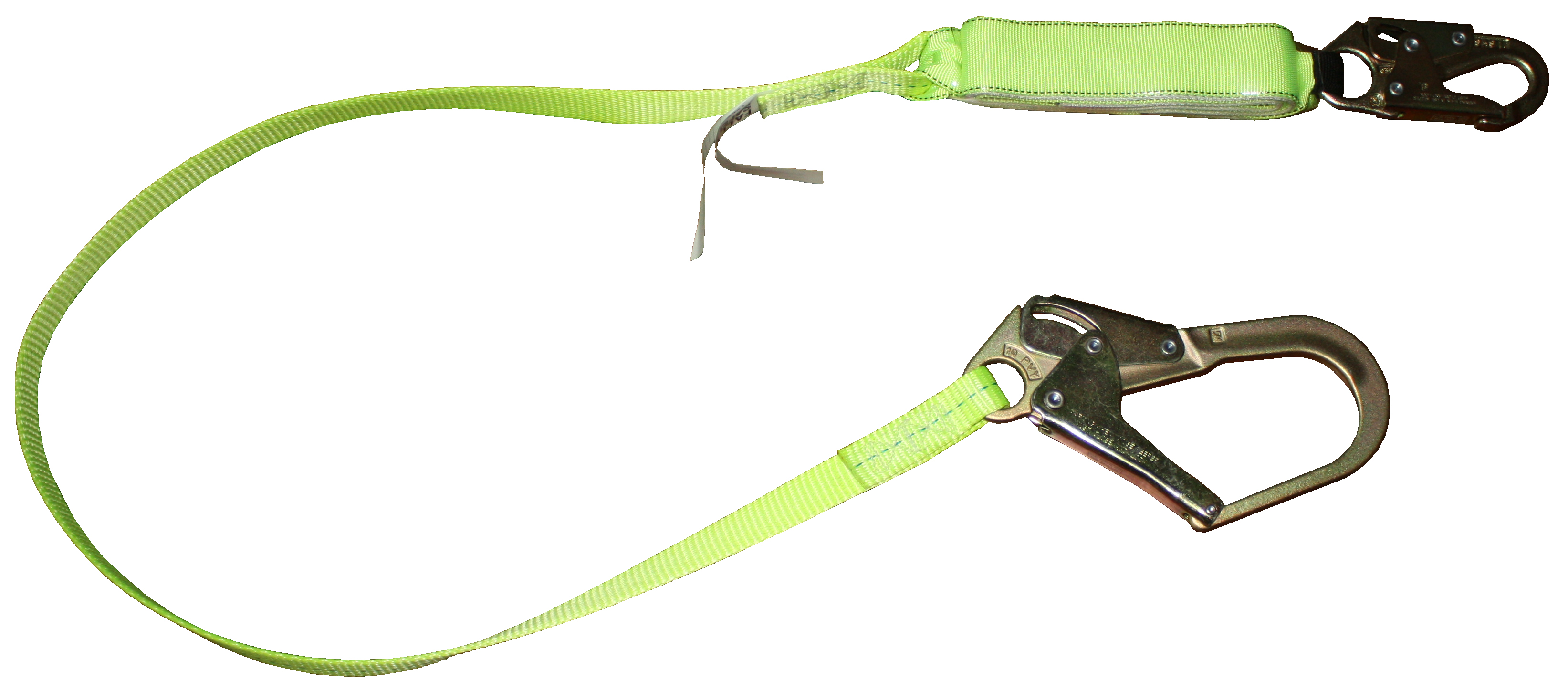 FallSafe 6' Shock Lanyard with Rebar Hook