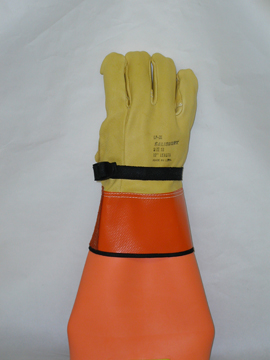 Salisbury Leather Protector Gloves Grade A 12