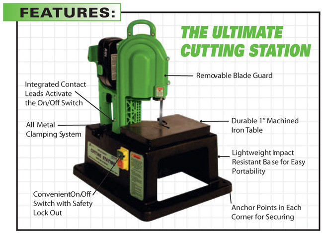 Stout Tool ST-CS250 Cutting Station