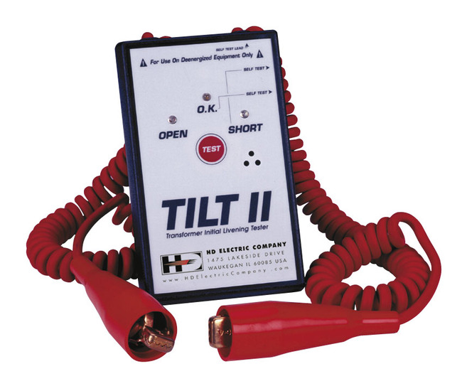 HD Electric TILT II Transformer Tester