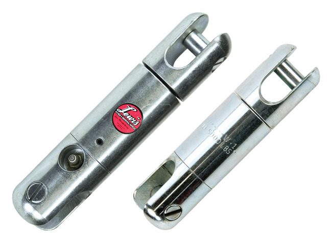 Lewis Regular Duty Ball Bearing Swivels - Working Load 5,000 lbs, Approx Breaking Strength 15,000 lbs.